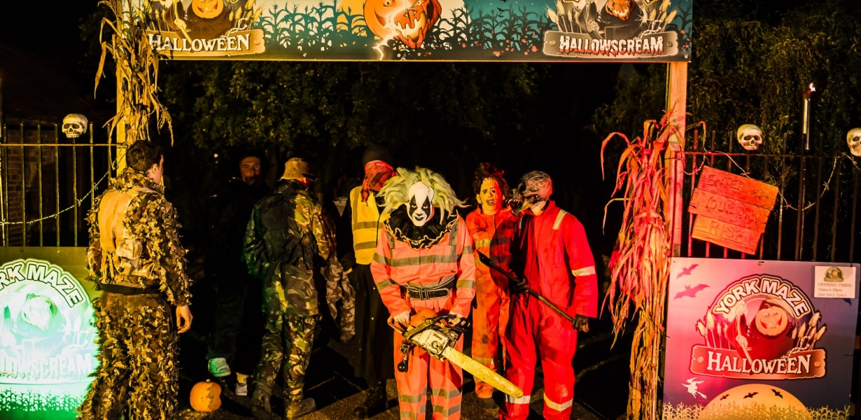 york maze halloween. hallowscream at york maze halloween